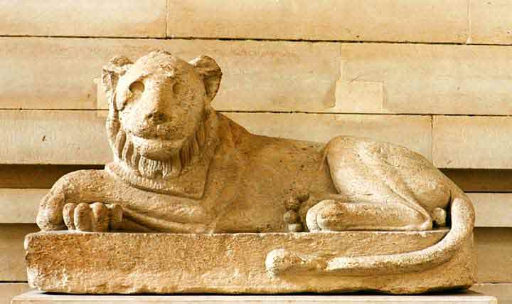 A Lion in Egypt